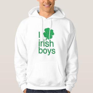 I Love Irish Boys Hoodie