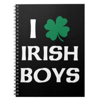 I Love Irish Boys Notebook