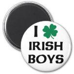 I Love Irish Boys Refrigerator Magnets