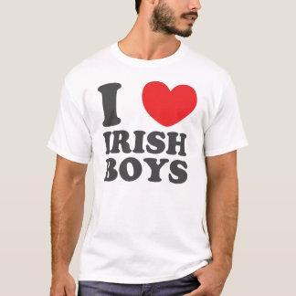I Love Irish Boys St. Patrick's Day T-Shirt