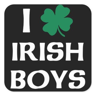 I Love Irish Boys T-Shirt | Funny and Cool T-Shirts ...