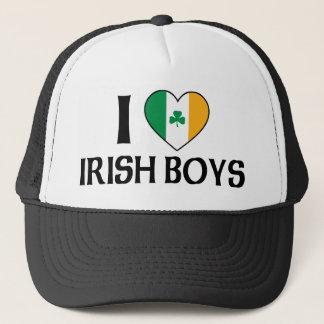 I Love Irish Boys Trucker Hat