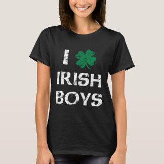 I Love Irish Boys Vintage Shirt