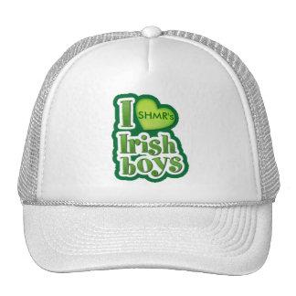I Love Irish Boys White Hat