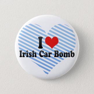 I Love Irish Car Bomb Pinback Button