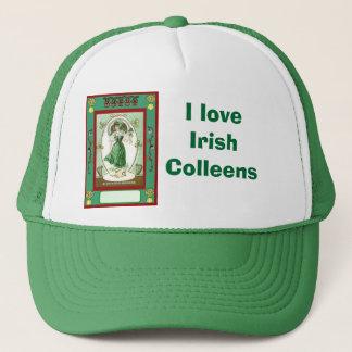 I love Irish Colleens Trucker Hat