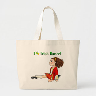 I love Irish dance Tote Bags