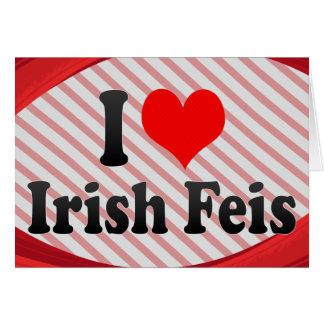 I love Irish Feis Stationery Note Card