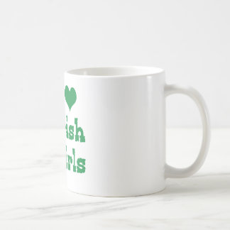 I Love Irish Girls Coffee Mug