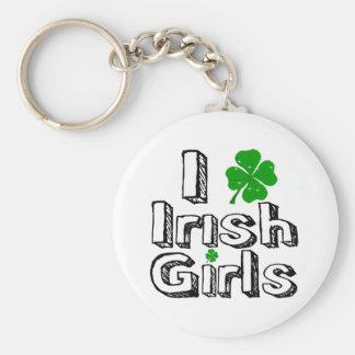 I love irish girls! keychain