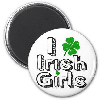 I love irish girls refrigerator magnets