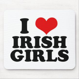I Love Irish Girls Mouse Pad