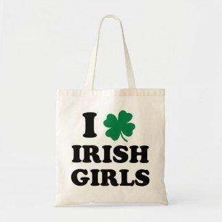 I Love Irish Girls Tote Bag
