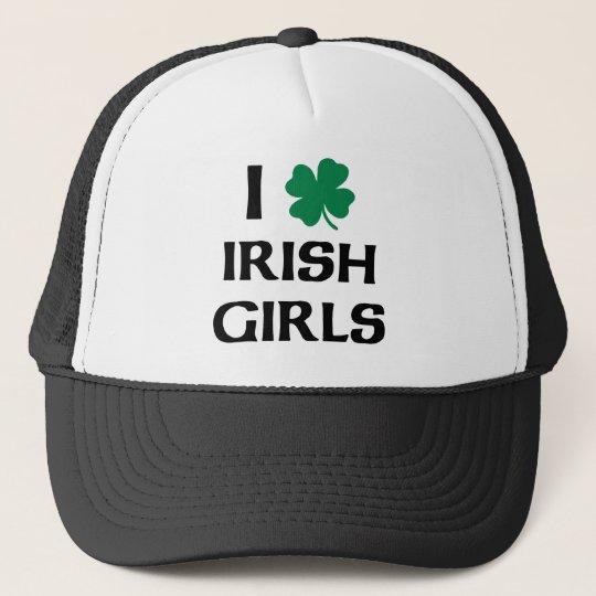 I Love Irish Girls Trucker Hat