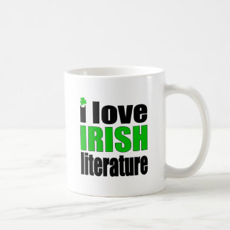 I Love Irish Literature Coffee Mug