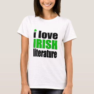 I Love Irish Literature T-Shirt