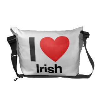 i love irish courier bags