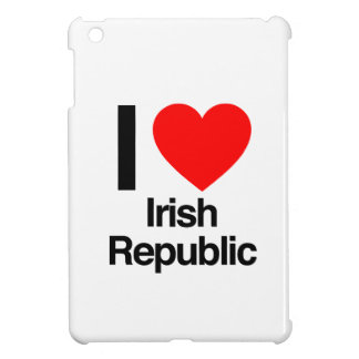 i love irish republic iPad mini cover