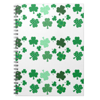 I Love Irish Shamrocks Notebook