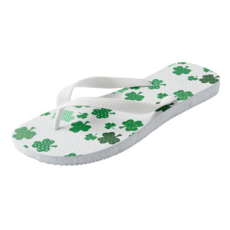 I Love Irish Shmrocks Flip Flops