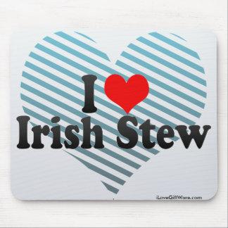 I Love Irish Stew Mouse Pad