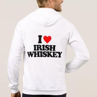 I LOVE IRISH WHISKEY SWEATSHIRT