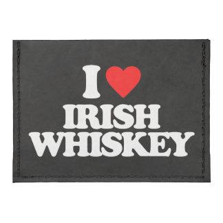 I LOVE IRISH WHISKEY TYVEK® CARD WALLET