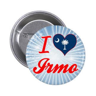 I Love Irmo, South Carolina Button