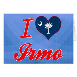 I Love Irmo, South Carolina Card