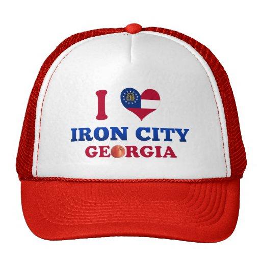 I Love Iron City, Georgia Trucker Hat