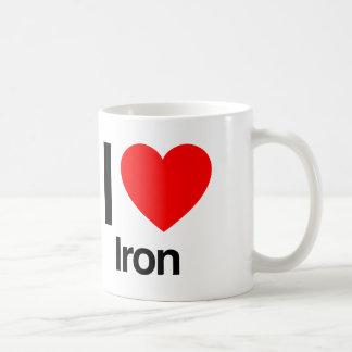 i love iron coffee mug
