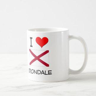 I Love IRONDALE Alabama Classic White Coffee Mug
