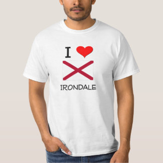 I Love IRONDALE Alabama T Shirts