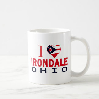 I love Irondale, Ohio Classic White Coffee Mug