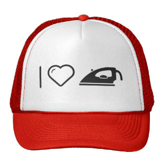 I Love Ironing Clothes Trucker Hat