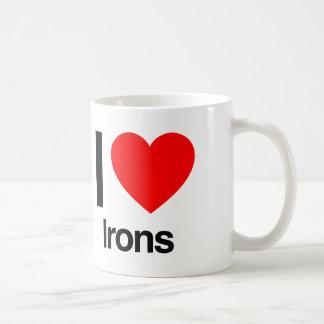 i love irons coffee mug