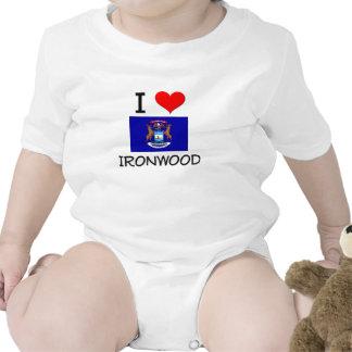 I Love Ironwood Michigan T-shirts