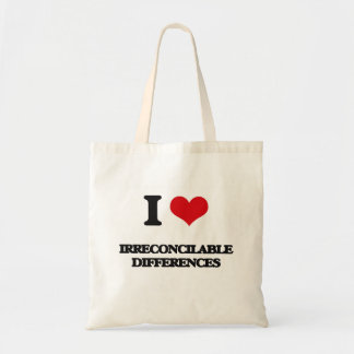 I Love Irreconcilable Differences Bag