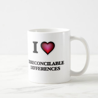 I Love Irreconcilable Differences Coffee Mug