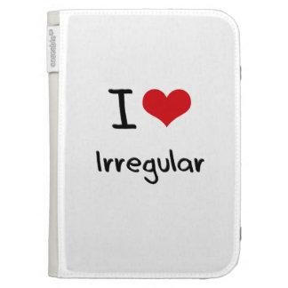 I love Irregular Kindle 3 Cases