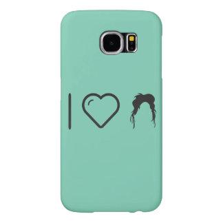 I Love Irregular Hairstyles Samsung Galaxy S6 Cases