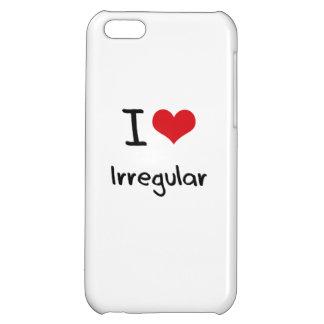 I love Irregular iPhone 5C Cases