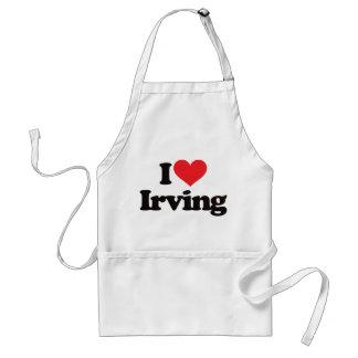 I Love Irving Adult Apron