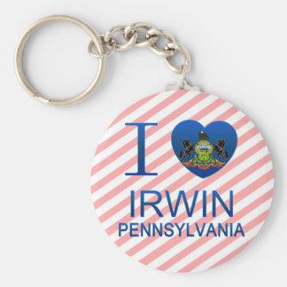 I Love Irwin  PA Basic Round Z Beer Irwin Pa