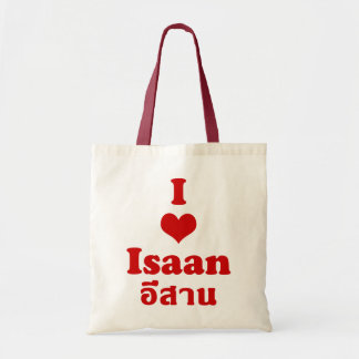 I Love Isaan ❤ Thailand Canvas Bags