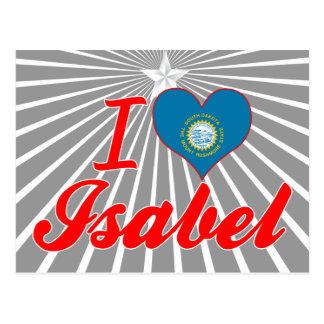 I Love Isabel, South Dakota Postcard
