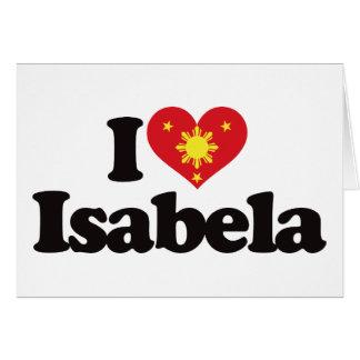 I Love Isabela Card