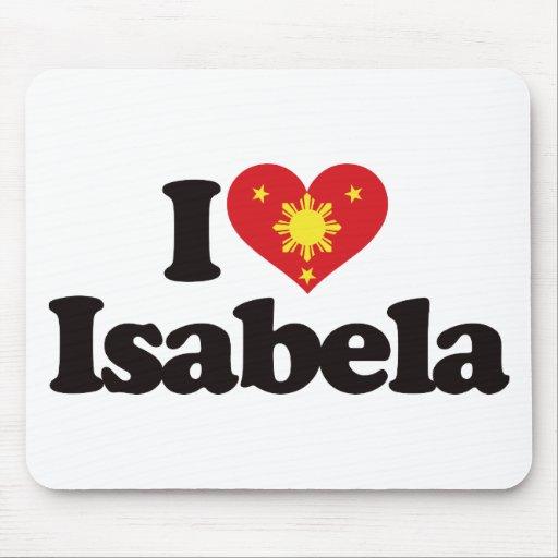 I Love Isabela Mousepads