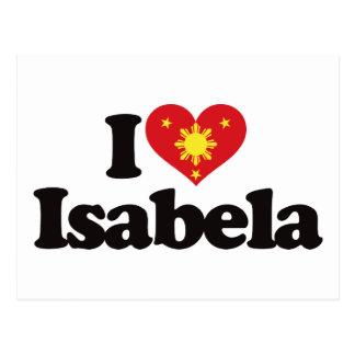 I Love Isabela Postcard
