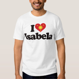 I Love Isabela T-shirt